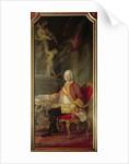 Francis I Holy Roman Emperor husband of Empress Maria Theresa Austria by Pompeo Girolamo Batoni