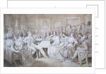 An Evening at Baron von Spaun's by Moritz Ludwig von Schwind