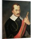 Portrait of Albrecht Wenzel Eusebius von Wallenstein Duke of Friedland and Mecklenburg and Prince of Sagan by Ludwig Ferdinand Schnorr von Carolsfeld