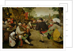 Peasant Dance, (Bauerntanz) by Pieter Bruegel the Elder