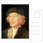 Young Man by Albrecht Dürer or Duerer