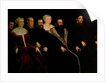 Seven members of the Soranzo Family by Jacopo Robusti Tintoretto