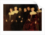 00409 Seven members of the Soranzo Family by Jacopo Robusti Tintoretto