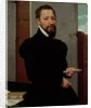 Giovanni Pietro Maffeis, Professor of Rhetoric at Genoa University and Secretary of the Republic by Giovanni Battista Moroni