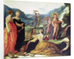 Apollo, Pallas and the Muses, 16th century by Bartholomaeus Spranger