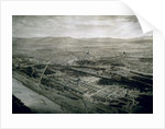 View of Vienna at the time of the World Exhibition by Josef Langl