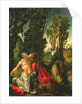 The Penitence of St. Jerome by Lucas