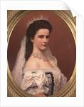Empress Elizabeth of Bavaria in Hungarian costume by Georg Raab