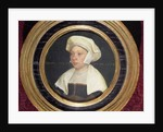 The wife of a dignitary at the court of King Henry VIII by Hans Holbein The Younger