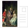 Archduke Maximilian Franz visiting Marie Antoinette and Louis XVI by Josef Hauzinger