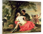 Venus and Adonis by A. & Wildens
