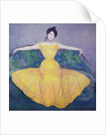 Lady in a Yellow Dress by Max Kurzweil