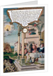 Lazarus and the Rich Man's Table by Matthias Gerung or Gerou