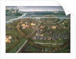 The Battle of Pavia in 1525 by Joachim Patenier
