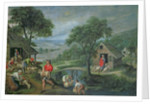 Parable of the Good Shepherd by Marten van Valckenborch