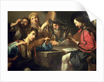 A Musical Gathering by Valentin de Boulogne