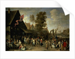 The Consecration of a Village Church by David the Younger Teniers