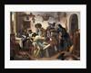 """Beware of Luxury"""", c.1663 by Jan Havicksz. Steen"""