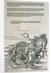 Triumphal Chariot of Emperor Maximilian I of Germany by Albrecht Dürer or Duerer