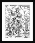 The Vision of The Seven Candlesticks by Albrecht Dürer or Duerer