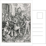 The Bearing of the Cross by Albrecht Dürer or Duerer