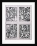 Christ before Pilate; Christ before Herod; Flagellation; Crowning with thorns by Albrecht Dürer or Duerer