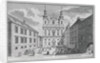View of the Jesuitenkirche and Dr-Ignaz-Seipal-Platz in Vienna by Salomon Kleiner