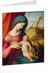 Madonna and Child by Correggio