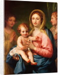 Madonna and Child with Two Angels by Anton Raphael Mengs