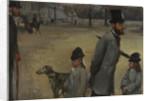 Place de la Concorde by Edgar Degas