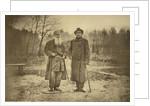 Leo Tolstoy and the author Maxim Gorky by Sophia Andreevna Tolstaya