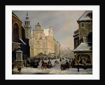 Town Hall, The Hague, 1853 by Carel Jacobus Behr
