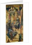 King Cophetua and the Beggar Maid - Cartoon Study, 1883 by Edward Coley Burne-Jones