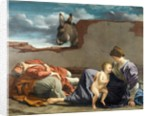 Rest on the Flight into Egypt, 1615-1621 by Orazio Gentileschi