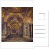 Venice - North Atrium Of St Mark's, 1907 by Thomas Matthews Rooke