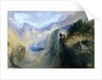 Manfred on the Jungfrau, 1837 by John Martin