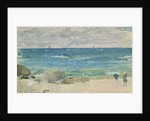 Beach Scene With Two Figures, 1885-90 by James Abbott McNeill Whistler