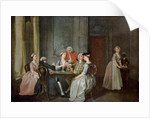 Playing At Quadrille, 1740-50 by Francis Hayman