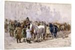 The Birmingham Horse Fair, c.1841-49 by David Cox