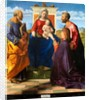 Madonna and Child Enthroned with SS. Peter and Paul and a Donor, 1505 by Giovanni Bellini
