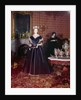 Ball gown of Mary Todd Lincoln by American School