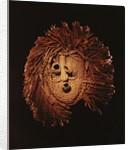 A Seneca mask used in winter rites by American School