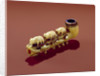 Korvack pipe with carved Polar Bears by Siberian School