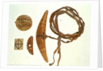 Inuit fishing equipment by Inuit School