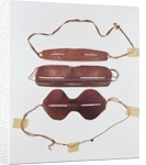 Inuit sun/snow 'glasses' by Inuit School