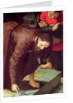 Christ and the woman taken in adultery by Jan Sanders van Hemessen