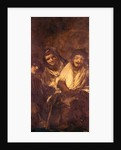 A Man and Two Women Laughing by Francisco Jose de Goya y Lucientes