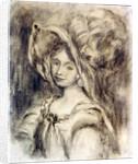 Mme Dieterle in a Hat by Pierre Auguste Renoir