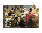 Lapiths and Centaurs by Peter Paul Rubens