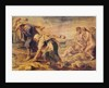 Deucalion and Pyrrha Repeople the World by Throwing Stones Behind Them by Peter Paul Rubens